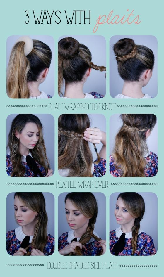Three ways with plaits