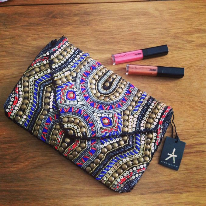 Primark Embellished Clutch