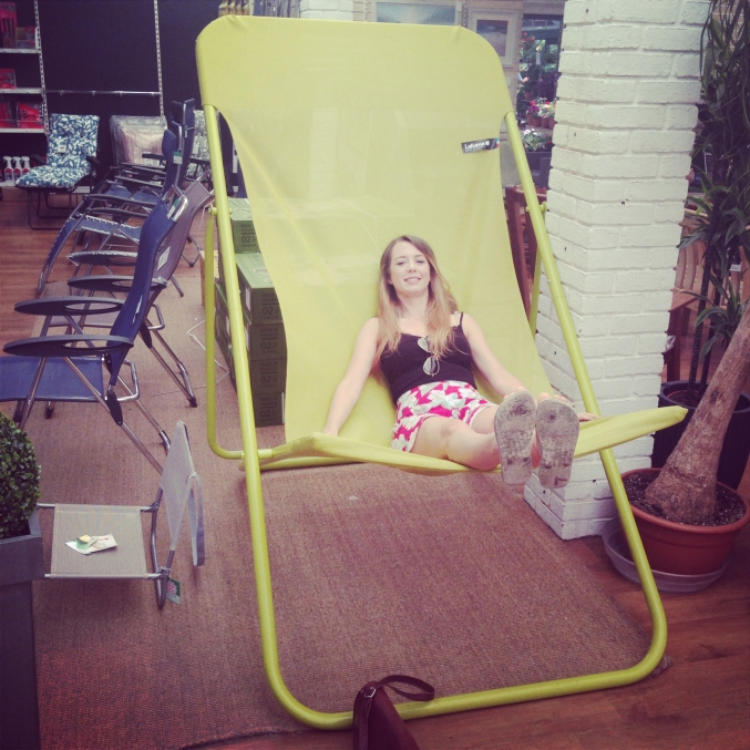 giant garden chair