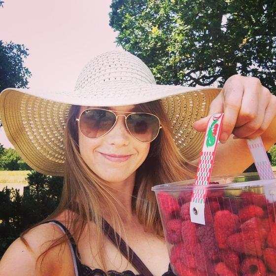 PYO raspberries