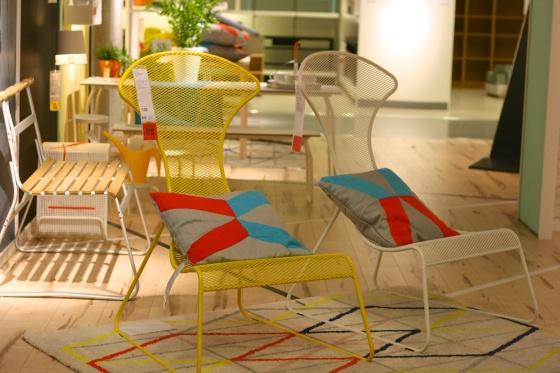 Ikea garden chairs
