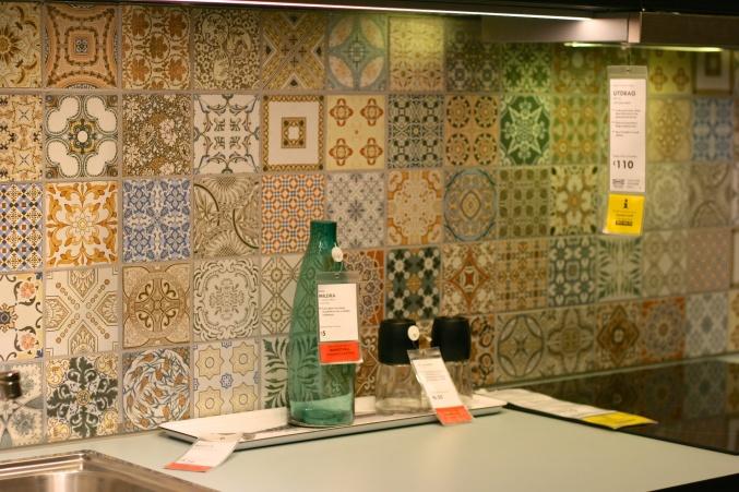 Ikea moroccan tiles
