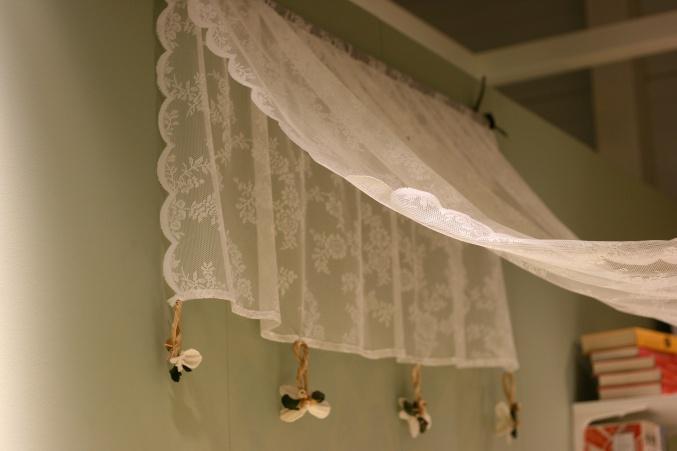 Ikea lace canopy