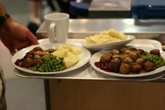 Ikea food canteen