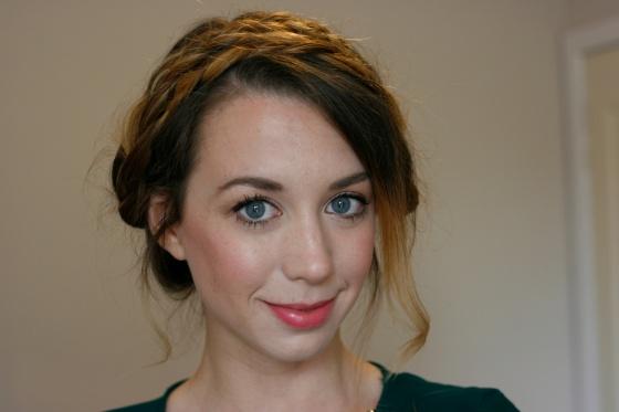 How to do Zoella milkmaid braid