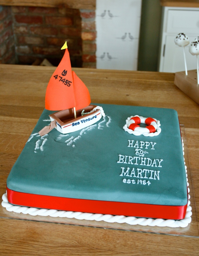 nautical cake decorating