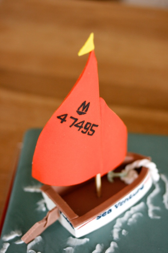 sugarpaste sails