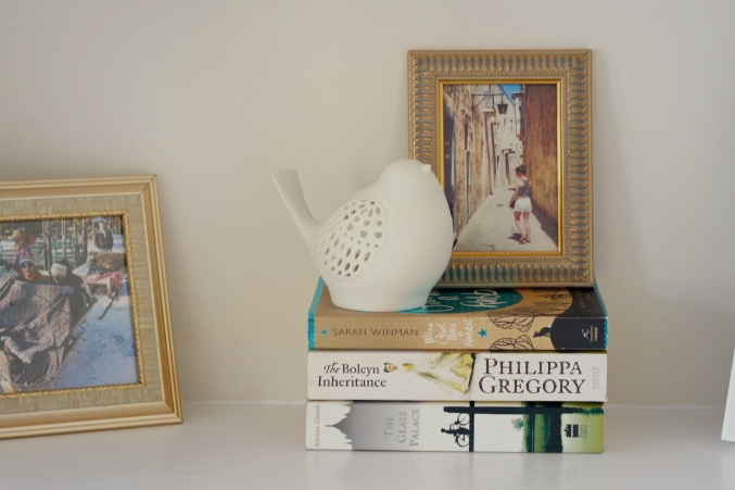 home styling shelves