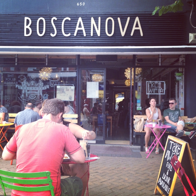 Cafe Boscanova Bournemouth