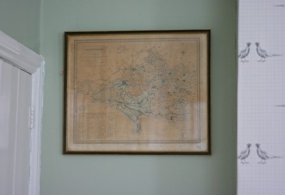 Dorsetshire old map