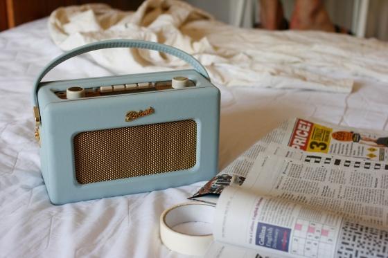 Decorating Roberts Radio