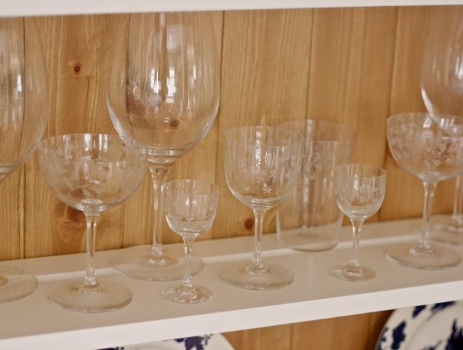 antique cut glasses