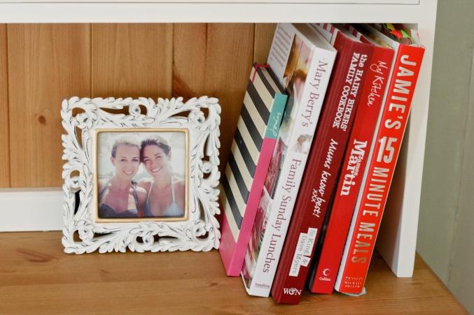 cookery books dresser
