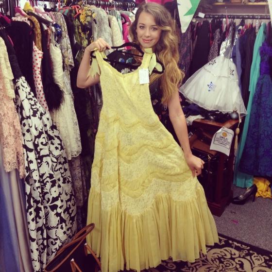 belle dress vintage disney