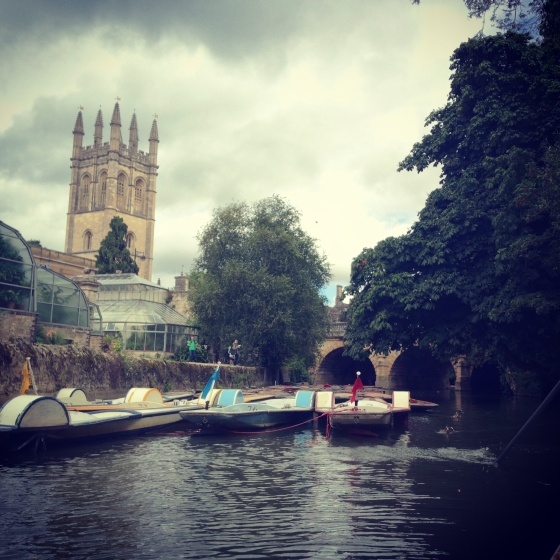 punting oxford