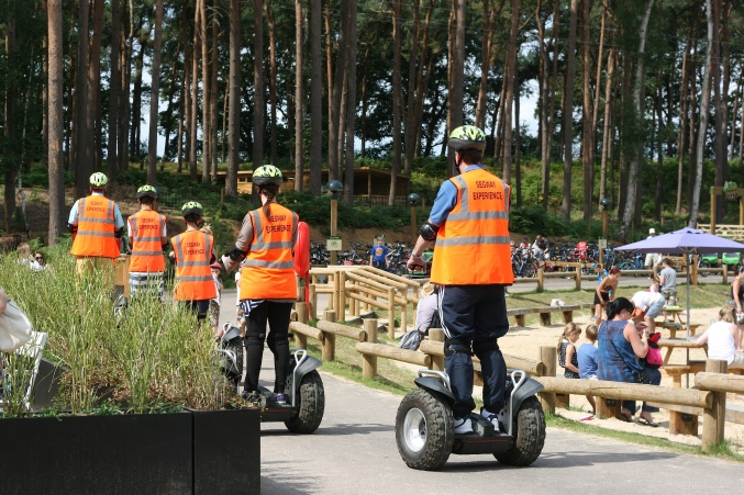 Center Parcs Woburn Segway experience