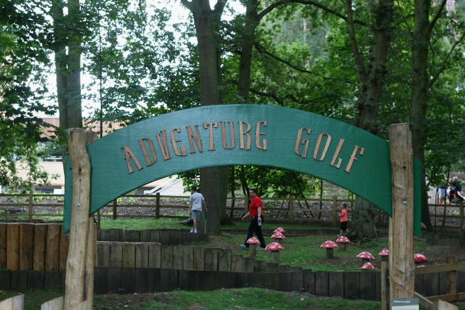 Center Parcs Woburn Crazy Golf