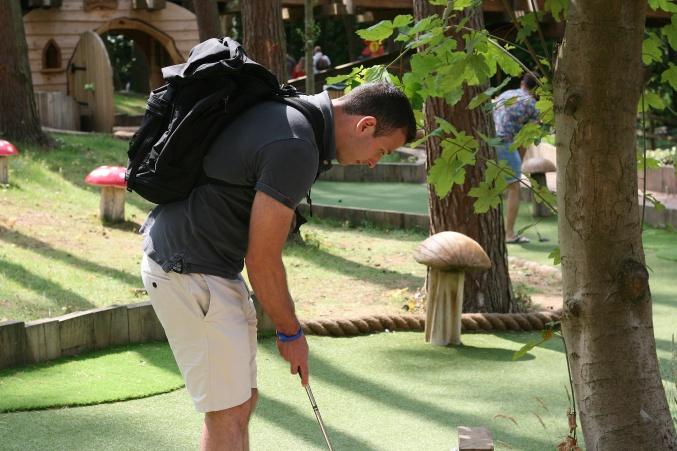 Center Parcs Woburn Adventure Golf