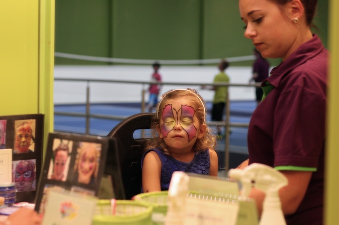 Center Parcs Woburn Face Painting