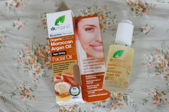 Dr Organics Facial Oil Argan