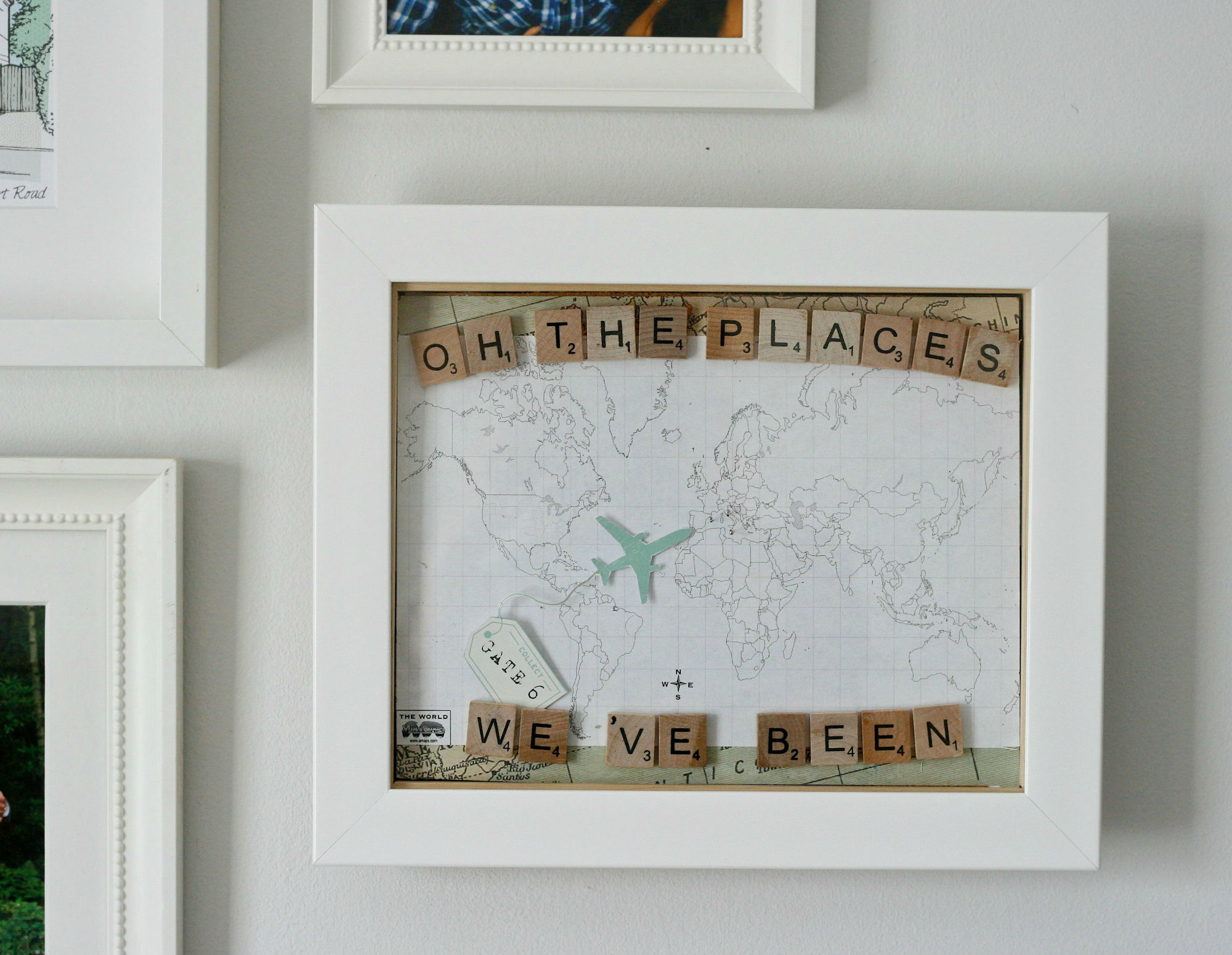 Diy framed pin board world map daisychains dreamers holiday map pins gumiabroncs Gallery