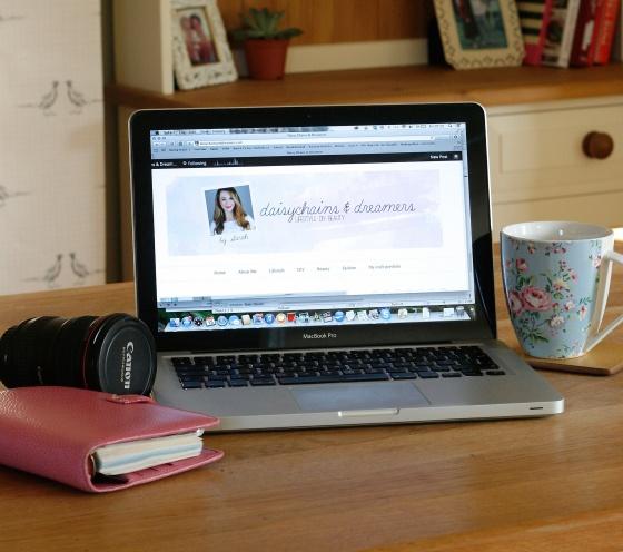 macbook pro blogging