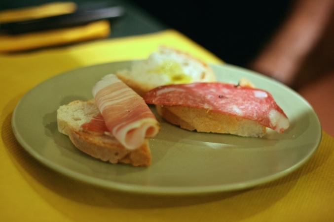 salami prosciutto