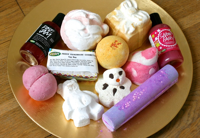 Lush gift voucher Bath bombs