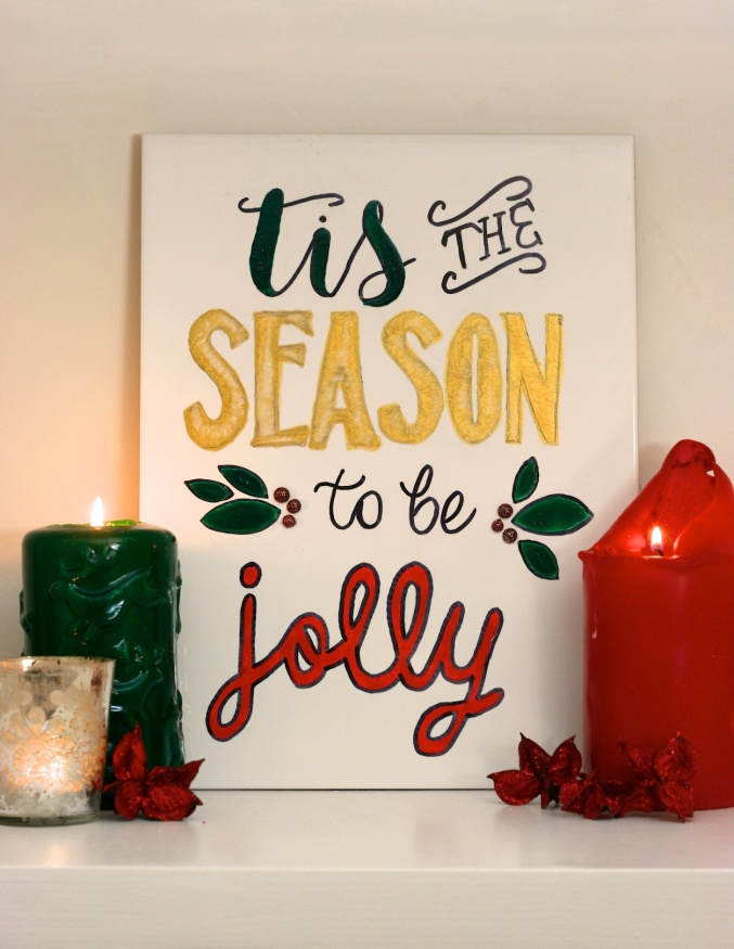 Topps Tiles Yuletile Greetings Christmas