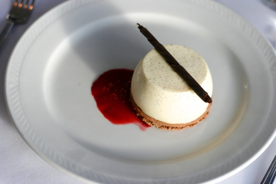 Thames River Lunch Cruise Dessert