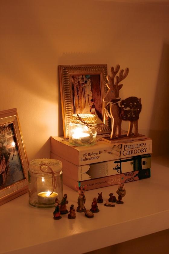 stag decoration mini nativity
