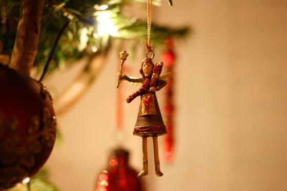Christmas fairy decoration