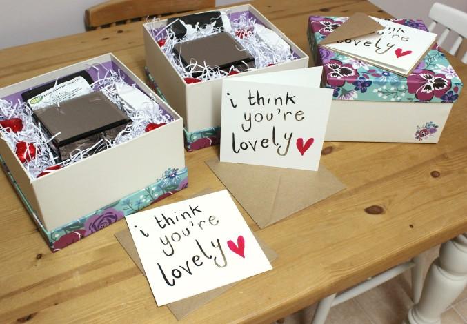 How to make a be my bridesmaid box
