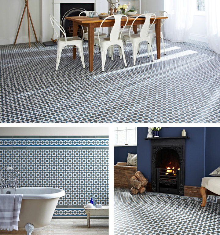 Capturing the Victorian tile trend at home   daisychains & dreamers