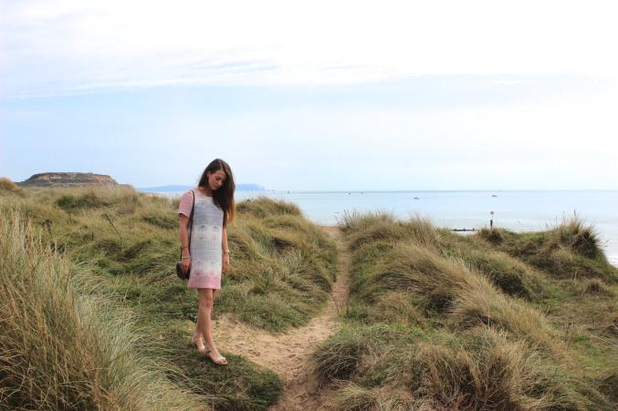 sand dune walking